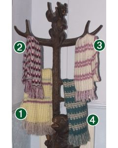 Kid Mohair Scarves - Hand-knitted